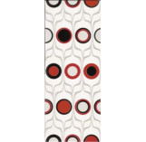 Domenico Red Circles Ins 200x500