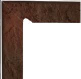 Semir Brown Cokol Dwuelementowy Schodowy (lewy) 81х300